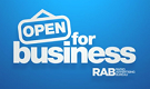 RAB Open for Business