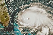 Hurricane Dorian (from NOAA)