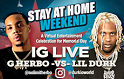 WGCI-FM Stay At Home Weekend