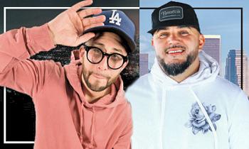 DJ Felli Fel and Justin Credible