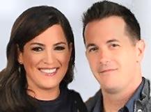 Sarah Spain and Jason Fitz