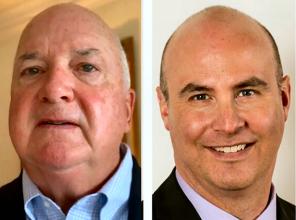 Jim Higgins and Rich Baum