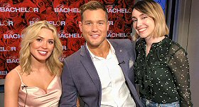 ABC News: ABC Radio entertainment producer Andrea Tuccillo caught up with ''The Bachelor's'' Colton Underwood and Cassie Randolph.