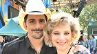 ABC Radio: ABC Radio's Andrea Dresdale chats with Country superstar Brad Paisley after performing with Demi Lovato on Good Morning America's Summer Concert Series.