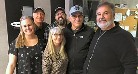 The Bob & Tom Show: Legendary Top 40 radio personality and Radio Hall of Famer John Records Landecker paid a visit to