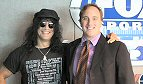 Fox Sports Radio: Former Guns N' Roses lead guitarist and rock music legend Slash stopped by the Los Angeles FOX Sports Radio Studios for a visit with sports host and comedian Jay Mohr.
