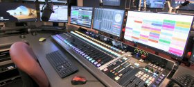 WBAL-AM/Baltimore: WBAL Radio and Hearst Stations announced the completion of a new studio for WBAL Radio. After many faithful years of service, the old studio was taken apart, walls were removed to make more room, and a new, multi-media facility was built. This new WBAL Studio space is based on Wheatstone Audio-Over-IP technology, using the latest LXE Console from Wheatstone. The console is designed to be fully flexible, with almost all buttons able to be custom programmed for the needs of the station.
