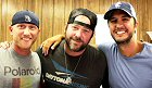 Westwood One: ''Country Countdown USA''s regular host Lon Helton is replaced by a trio of country stars this week -- Luke Bryan, Lee Brice and Cole Swindell. The three stars are on the road now with Luke's That's My Kind of Night Tour. Lon returns to CCUSA next week with co-host Brad Paisley. L-R: Cole Swindell, Lee Brice and headliner Luke Bryan.